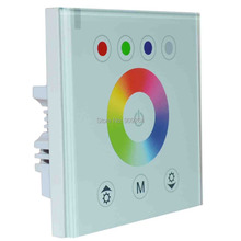 NEW RGB LED switch Controller for RGB LED Strip Light,wall mounted switch for DIY home decoration lights.Free Shipping,Brand New