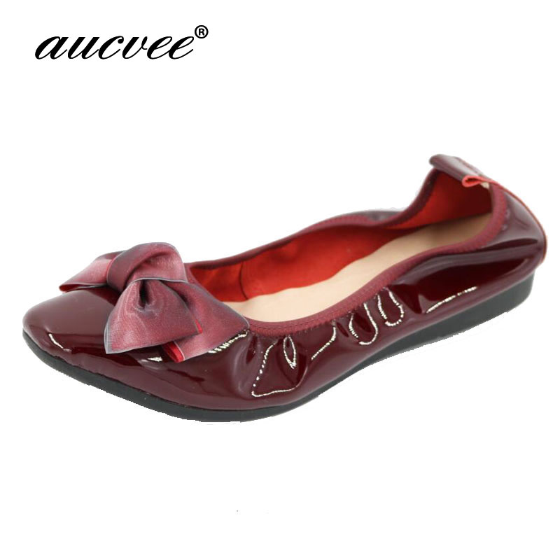 Genuine Leather Women Flats Fashion Black Pointed Toe Ladies Ballet Flats Brand Designer Ballerina Woman Flats