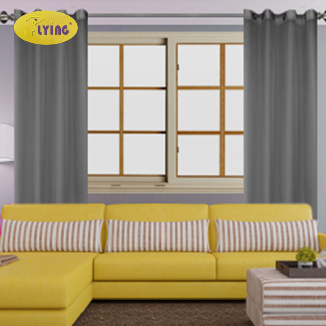Flying Bedroom Curtains Tulle For Window Patio Gray Coffee Grommet Curtain  Panel Drapes Living Room Window