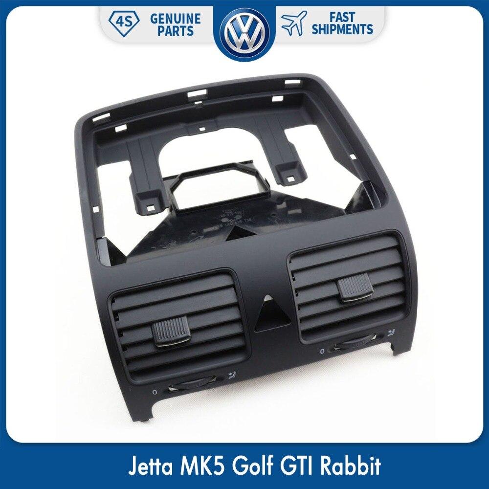 OEM воздуховод для приборной панели, передняя панель A/C, обогреватель, вентиляционная решетка для VW Volkswagen Jetta MK5 Golf GTI Rabbit 1K0819728J 1KD 819 728 1QB