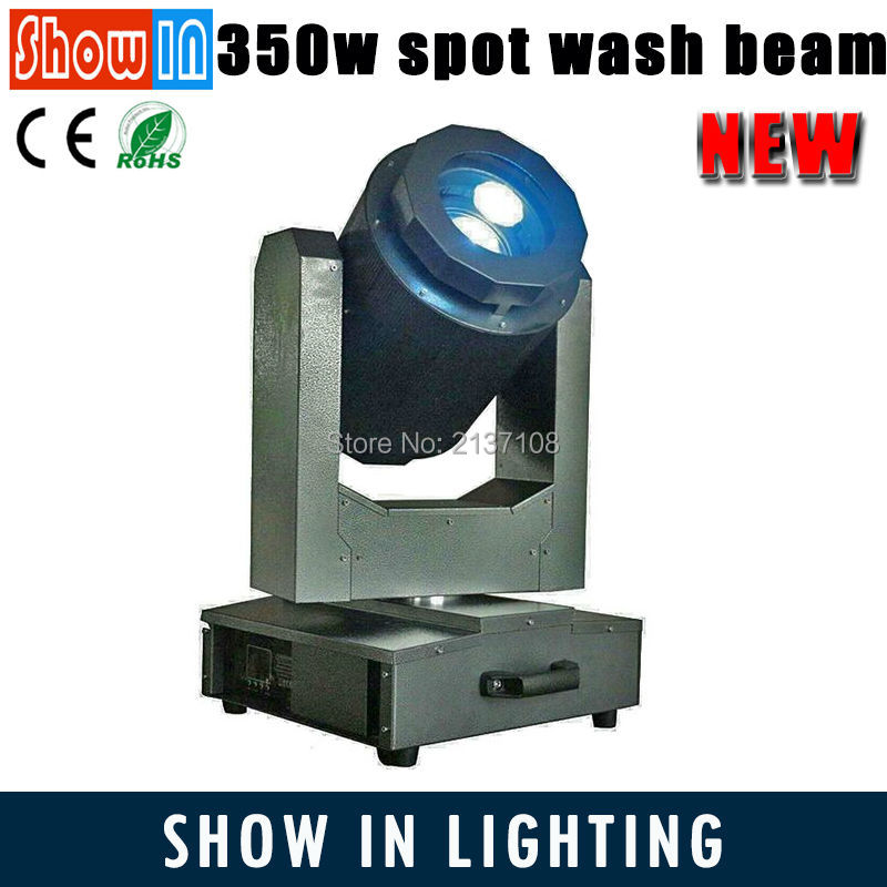 2016 New Product 17R 350W Sharpie Outdoor 3in1 Stage Lightings Waterproof RGB LED Beam Spot Wash Moving Head With Flightcase