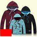 Solid Sweatshirts Casual Family Clothing  Mom Daughter Father Son Matching Clothing Family Set Women Kid Hoodies Wine 3XL QO6