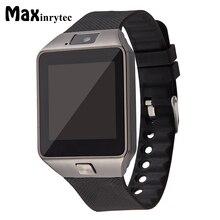 Do bluetooth Inteligente Relógio Homens Relogio Smartwatch DZ09 Android Phone Call 2g GSM SIM Câmera Cartão TF para o iphone Samsung PK GT08 A1 Y1