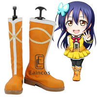 Anime LoveLive School Idol Project Sunny Day Song Sonoda Umi Shoes Cosplay Christmas Party Boots Custom