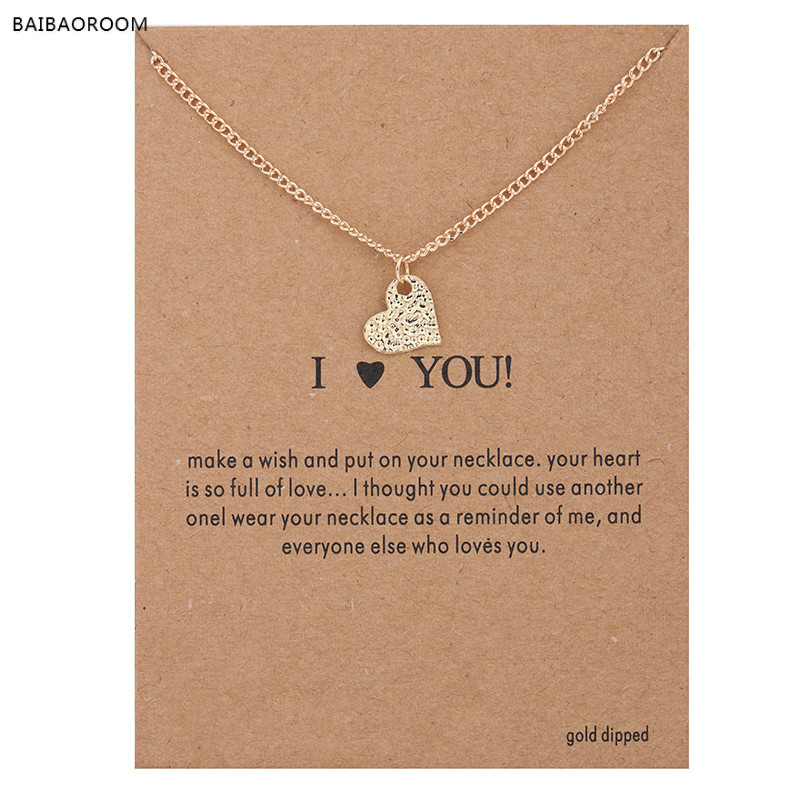Jewelry & Accessories Helpful Zhimo New Crystal Heart Pendant Necklace For Women English Letter Alphabet Gold Chain Necklace Wholesale