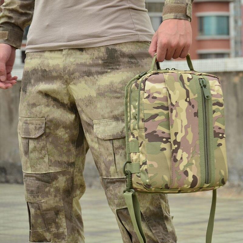 Corpo Zaino Sling doppia Bag Sport Escursione tan cp Militare Di Spalla Borsa Black Campeggio Outdoor 720d od Sportiva Petto Singola Tattico qnZFPP