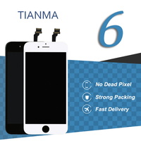 10pcs For IPhone 6 LCD Display Tianma Quality Smartphone Touch Screen Digitizer Assembly Screen For Iphone