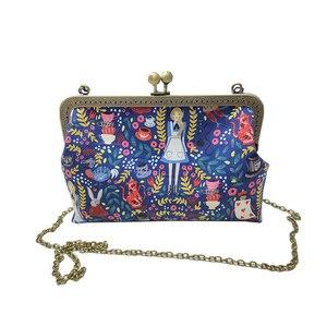Image 3 - Alice in Wonderland Crossbody Bags for Women Handbag Fashion Cartoon Ladies Chain Party Shoulder Bag Messenger Bags