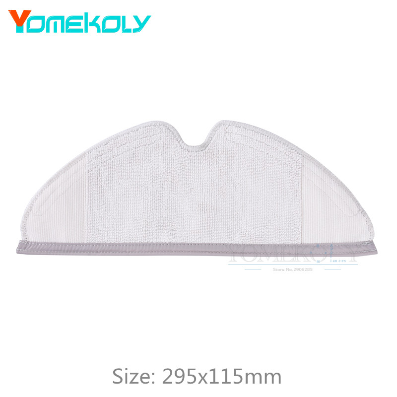 Mop Cloths for Xiaomi Roborock S50 S51 Robot Vacuum Cleaner Spare Parts Kits Mopping Cloth Dry Wet Mopping Cloths цена и фото