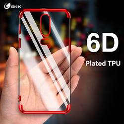 На Алиэкспресс купить чехол для смартфона gkk case for oneplus 6t 5t 5 6 7 case soft silicone flexible cover phone anti-shock waterproof slim for oneplus6t 5 5t 7pro case