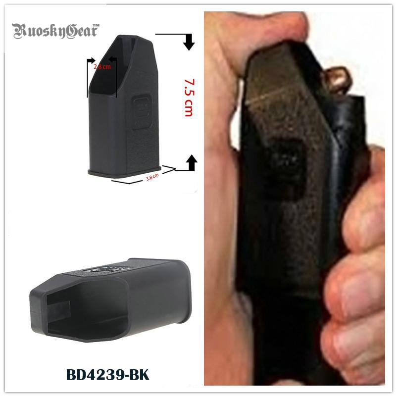 2017 IPSC Glock Magazine Ammo Speed Loader for 9mm, 40, 357, 45 GAP Mags Clips Clip for Glock Magazine Free Shipping