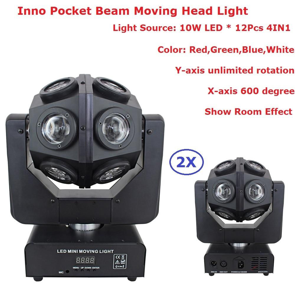 Hot Sell American Dj Light 2in1 RGBW 12x10w LED Moving Head Light DMX512 Beam stage lights KTV disco dj wedding party lamps