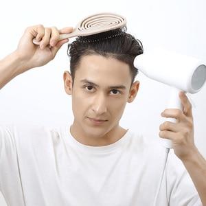 Image 4 - Youpin Xinzhi מרגיע אלסטי עיסוי מסרק נייד שיער מברשת עיסוי מברשת קסם מברשות ראש קומבס