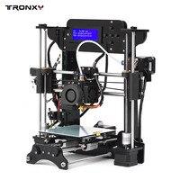 TRONXY 3D принтеры акриловая рамка MK10 экструдер Размеры 120*140*130 мм 8 GB SD карты Поддержка ABS/PLA/ТПУ/деревянное волокно для начинающих