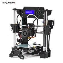 Tronxy 3D-принтеры акрил Рамки MK10 экструдер Размеры 120*140*130 мм 8 ГБ SD карты Поддержка ABS/ PLA/ТПУ/Wood filament для начинающих