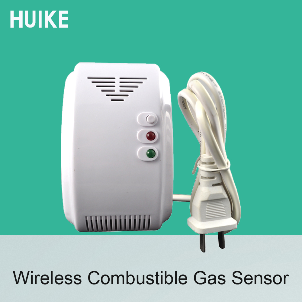 1 PCS Wireless Combustible Gas Leaking Detector 315MHz Alarm System Accessories Coal Natural LPG Sensor kitchen safety protect