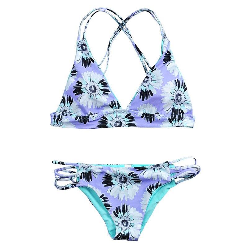 snowshine3 #3003 Straps bikini suit, flowers bikini was thin bikini swimsuit swimsuit 2017 new free shipping обогреватель aeg wkl 3003 s wkl 3003 s