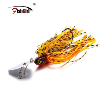 Fishgirl 2019 nowy Pesca Swim JIG 1 2oz (14g) dziki nagłówek ołów hak przegrody Bass Bait Fishing Lure haki Spinnerbait Peche Hamecon tanie i dobre opinie Rzeka Stream LAKE Zbiornik staw Sztuczne przynęty SPN05