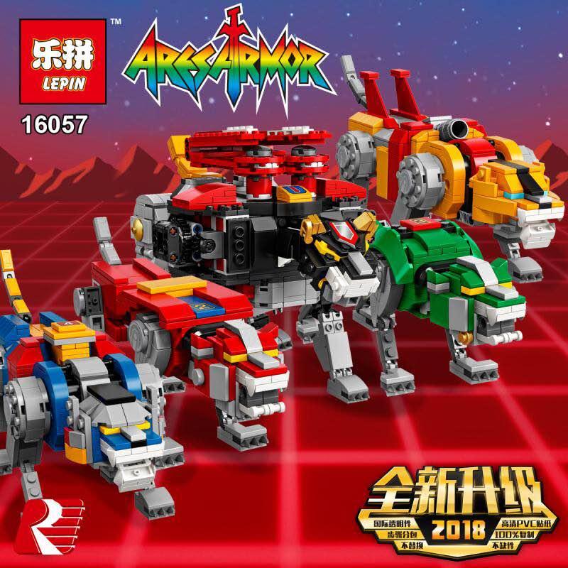 IN STOCK DHL LEPIN 16057 Voltron 2600PCS Defender of The Universe Compatible Legoigs 21311 Model Building Kits Blocks Bricks Toy цена и фото
