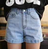 Plus size summer hot sale cheap high waist jeans casual woman denim shorts feminino female loose women sexy short shorts jean