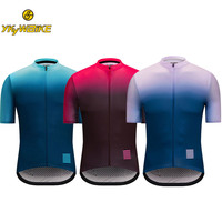 YKYWBIKE Men Short Sleeve Cycling Jersey Bike Shirt Mtb Jersey Clothing Bike Wear Clothes Downhill Jersey Maillot Ropa Ciclismo