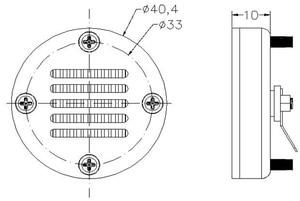 Image 5 - 2 יח\חבילה Sounerlink שנאי תנועת אוויר סרט AMT tweeter רמקולים לרכב רמקול 8OHM 15 W