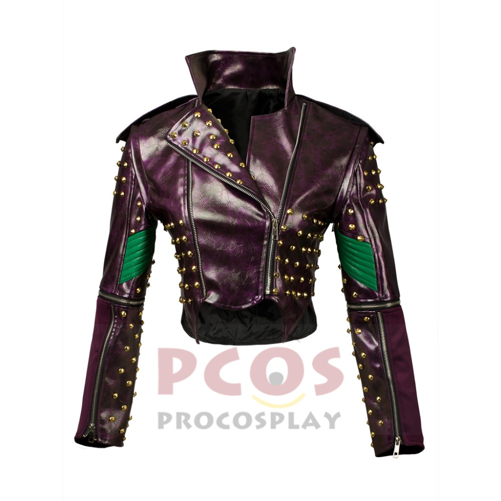 En stock, Ready Ship, New Descendants 2 Malo Cosplay Costume Jacket - Disfraces