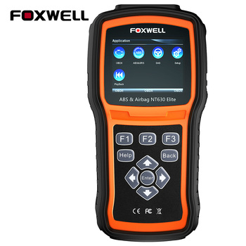 FOXWELL NT630 Elite OBD2 Scanner ABS SAS Airbag Reset OBD 2 Automotive Scanner Free Update Car Diagnostic Tool In Portuguese