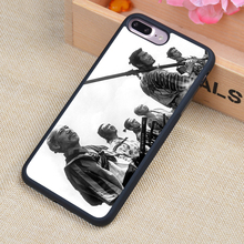 Seven Samurai Cartoon Printed Phone Case Skin Shell For iPhone 6 6S Plus 7 7 Plus 5 5S 5C SE 4 4S Rubber Soft Cell Housing Cover