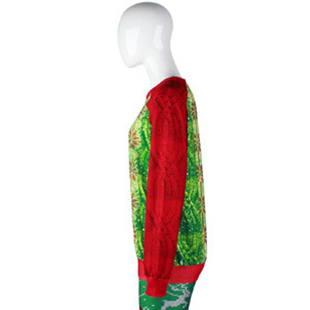 2017 New Fashion Men Women Hoodie Santa Claus Beard Sweatshirt Harajuku 3D Hooded Pullover Red Sweat For Christmas