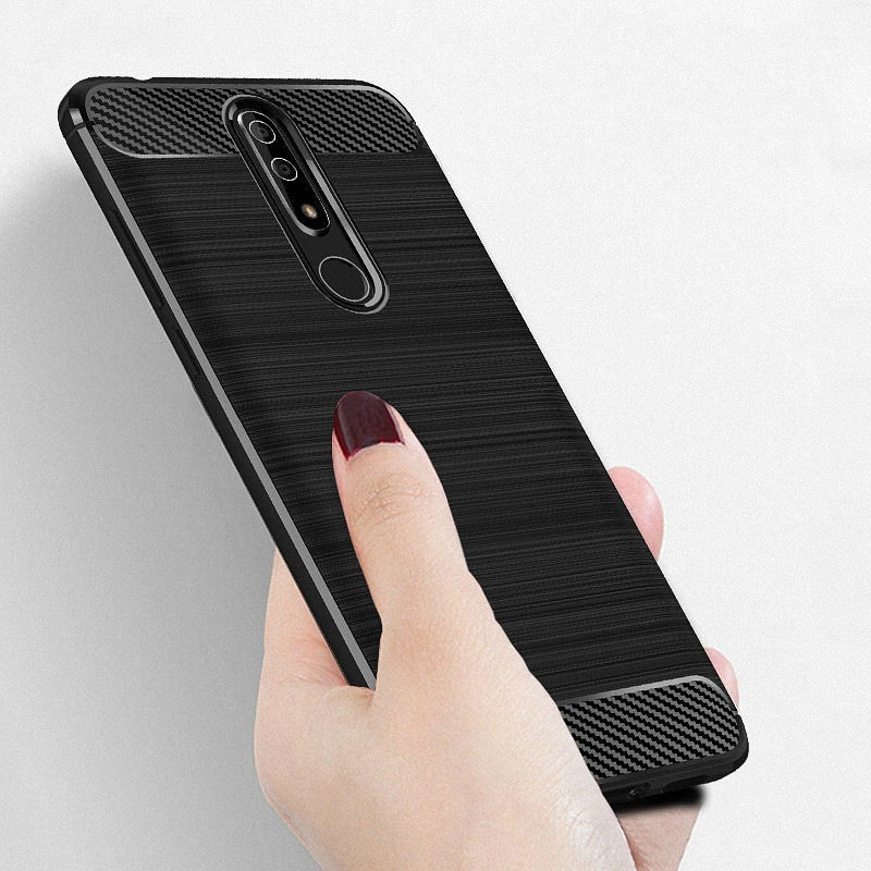 For Nokia 5.1 Plus for Nokia X5 WIERSS Armor Case cover for Nokia 5.1 Plus for Nokia X5 Shockproof phone Back cover Case