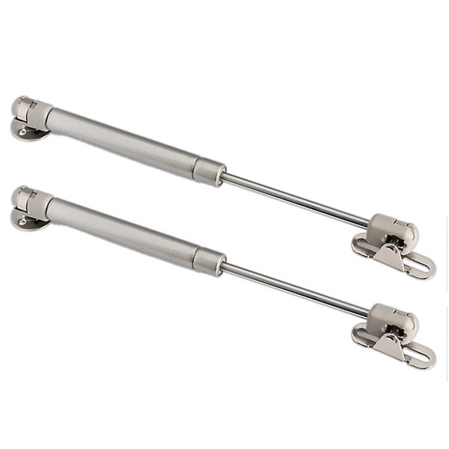 100N /10kg Force Door Lift Support Furniture Gas Spring Cabinet Door Kitchen Cupboard Hinges Lid Stays Soft Open/Close