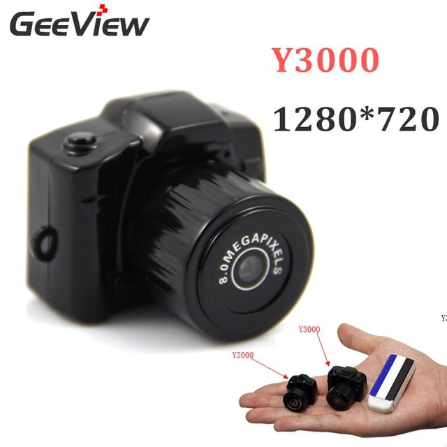New Version Y2000 Mini Camera Y3000 Camcorder Portable Mirco DV Mini HD PC Camera 720P Kamera Micro Web Cam Thumb Small Camera