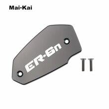 MAIKAI For KAWASAKI ER-6N 2009-2017 CNC Aluminum Motorcycle Brake Fluid Fuel Tank Cap Cover