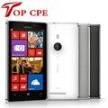 Nokia Lumia 925 Dual Core 1 ГБ RAM 16 ГБ 8MP камера 4.5 дюймов Сенсорный Экран Microsoft Оригинал Восстановленное Windows 8 Smart телефон