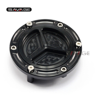 Motocycle Accessories CNC Aluminum Fuel Tank Cap Cover Black For KTM 690 DUKE R 950 990