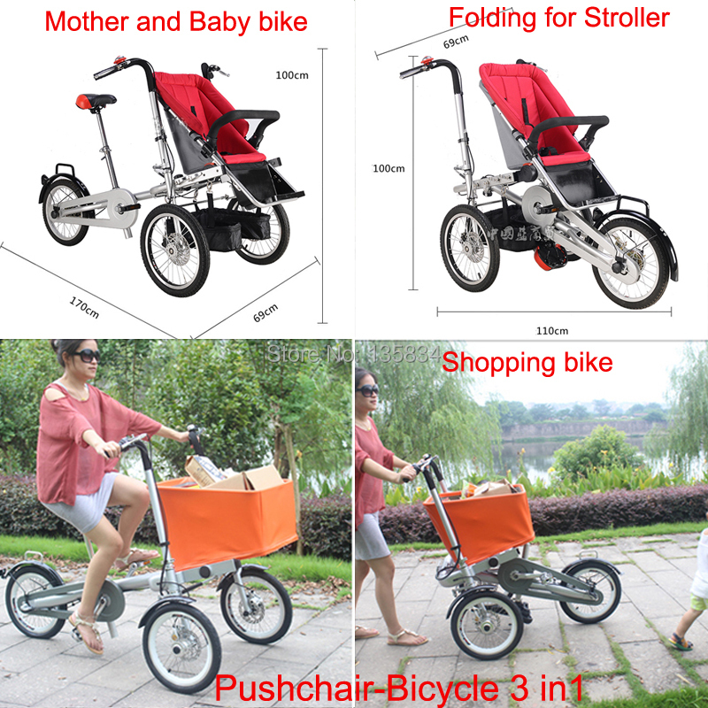 Popular Bike Pushchair-Buy Cheap Bike Pushchair lots from China ...