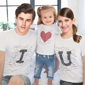 family matching clothes parent child casual outfit family clothing