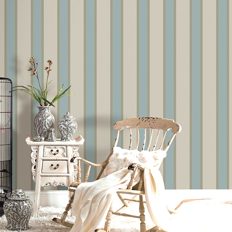 Beibehang Modern simplicity TV Background mural Wallpaper roll Striped 3D Wallpaper 0.53x10 m Desktop Wallpaper for living room