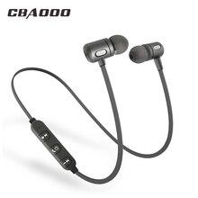 Bluetooth Oortelefoon draadloze hoofdtelefoon sport bass bluetooth headset met microfoon voor telefoon xiaomi