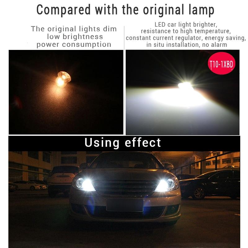 JSTOP T10 Szuper fényes lámpa kiváló minőségű automatikus - Autó világítás - Fénykép 4