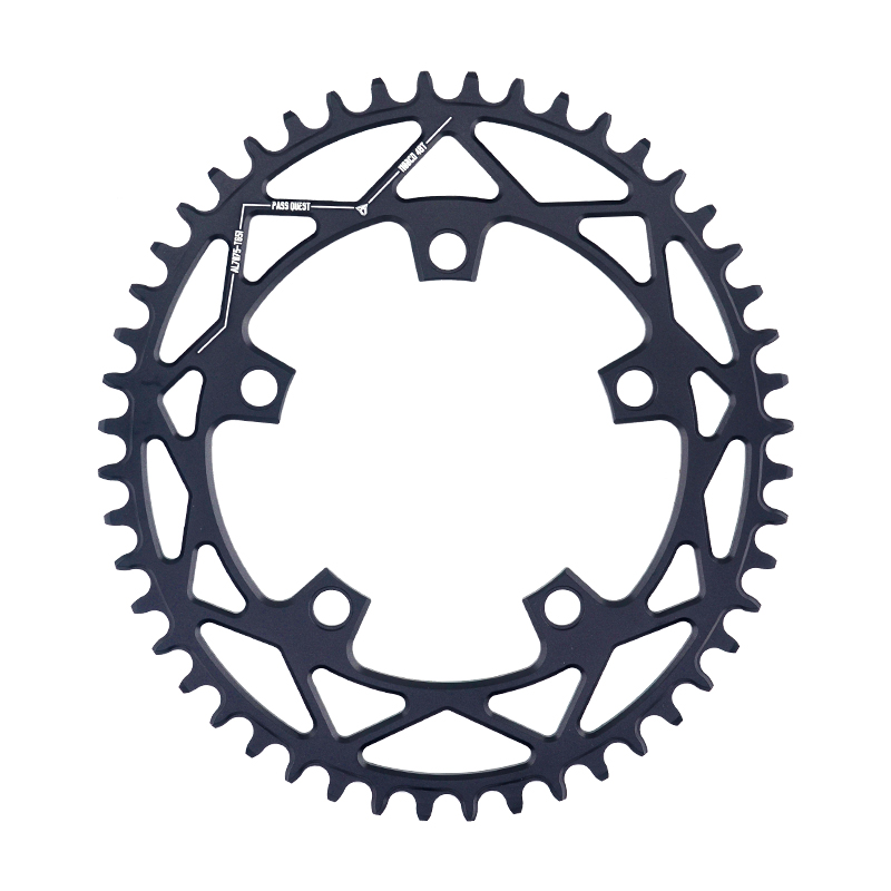 PASS QUEST 110 5 BCD 110BCD Oval Road 42T 52T Bike Narrow Wide Chainring Bike Chainwheel