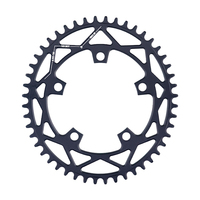 PASS QUEST 110 / 5 BCD 110BCD Oval Road 42T 52T Bike Narrow Wide Chainring Bike Chainwheel For 3550 APEX RED