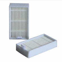 2 Pcs White Hepa Filter for Panda X500 ECOVACS X500 X600 CR120 Vacuum Cleaner parts replacement Free ship New