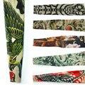 OPHIR 6Pcs Arm Tattoo Sleeves Assorted Mix Nylon Stretchy Fake Tattoo Sleeves Body Arm Stockings_TA029