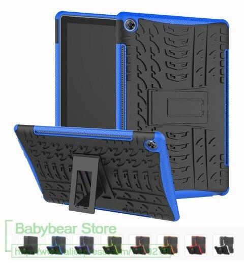 3In1 Duty Case Heavy Duty 2 In 1 Hybrid Durable Funda Tablet Shell For Huawei Mediapad M5 Lite 10 10.1'' AH2-L09/W19 10.1