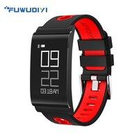 FUWUDIYI Sports Watches Blood Pressure Oxygen Heart Rate Fitness Tracker Smart Bracelet Big Screen Ultra Slim