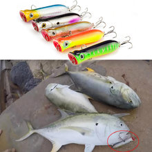 SEALURER Brand Popper Wobbler Fishing lure With 6# hooks 8cm12g floating crankbait artificial bait poper pesca carp pike(China)