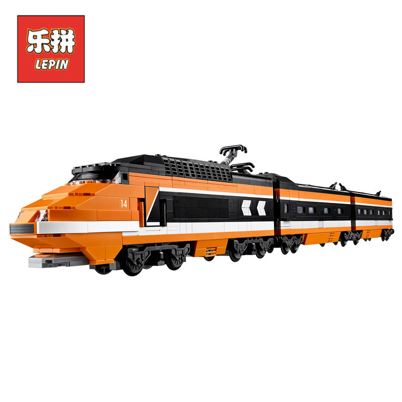 Lepin Set 21007 1351Pcs Technic Figures Horizon Express Train Model Building Kits Blocks Bricks Educational Toy Compatible 10233