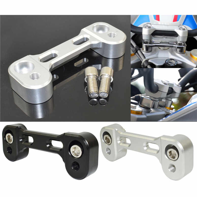 Waase moto guidon Riser Up 20mm Movers dos 17mm Kit de support pour BMW G310R G310GS G310 R GS 2017 2018 2019